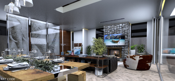 DINING AND LIVING AREA (2)