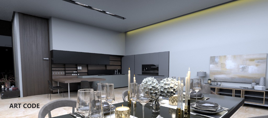 KITCHEN AND DINING AREA (2)
