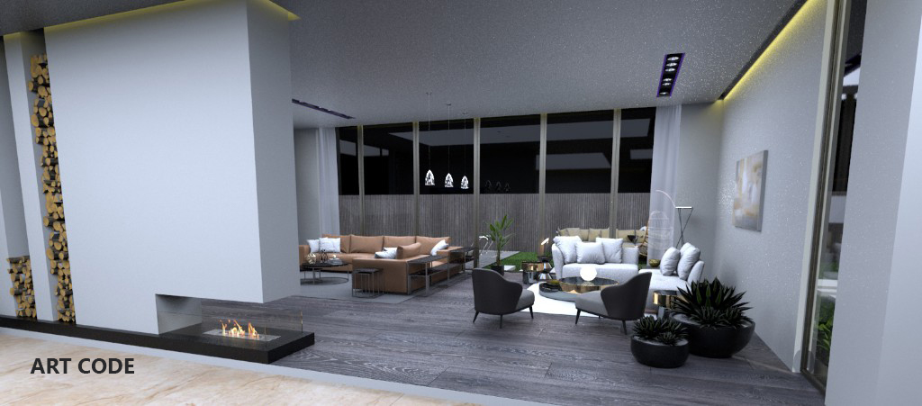 RECEPTION AREA AND LIVING AREA (1)