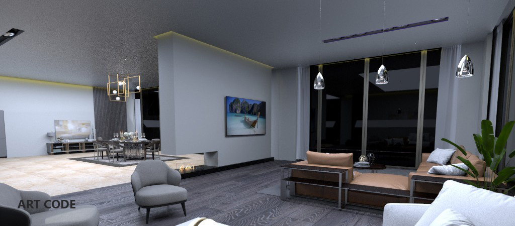 RECEPTION AREA AND LIVING AREA (3)