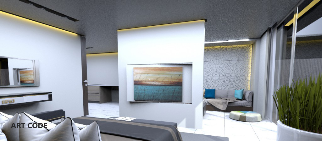 MASTER'S BEDROOM AND LIVING AREA (1)