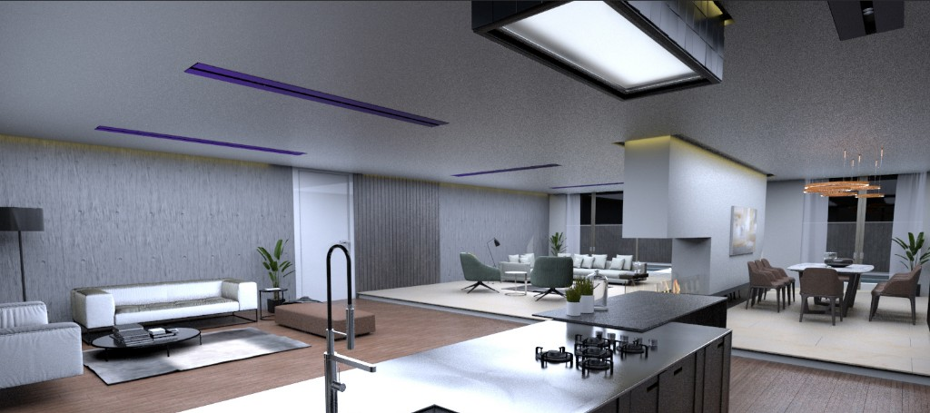 KITCHEN AND MAIN RECEPTION
