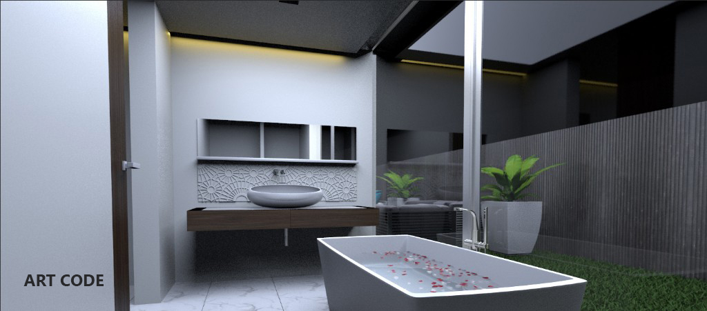 MASTER'S TOILET AND BATH