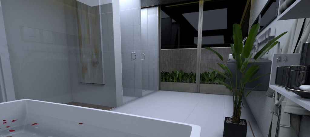 MASTER'S TOILET AND BATH (3)