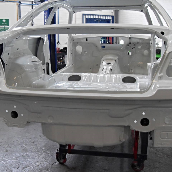 Nice clean and painted bodyshell.