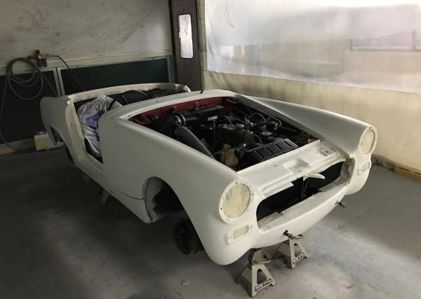 MG Midget MK1 Strip Down