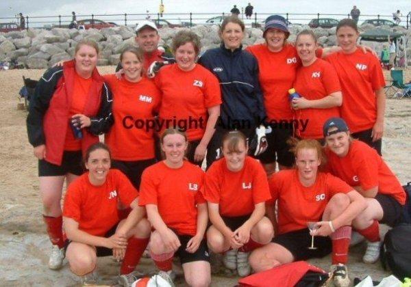Beach Football Tournament The Wirral