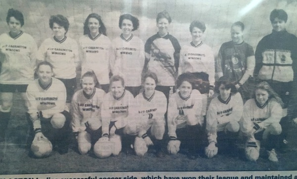 First Ladies Team - Clacton LFC 1992