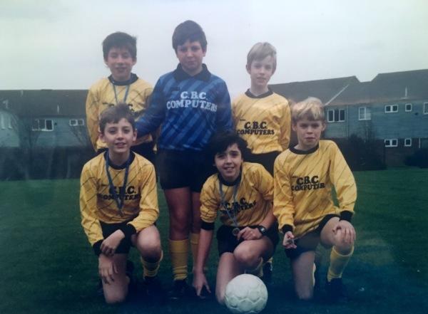 First football team - School 1988