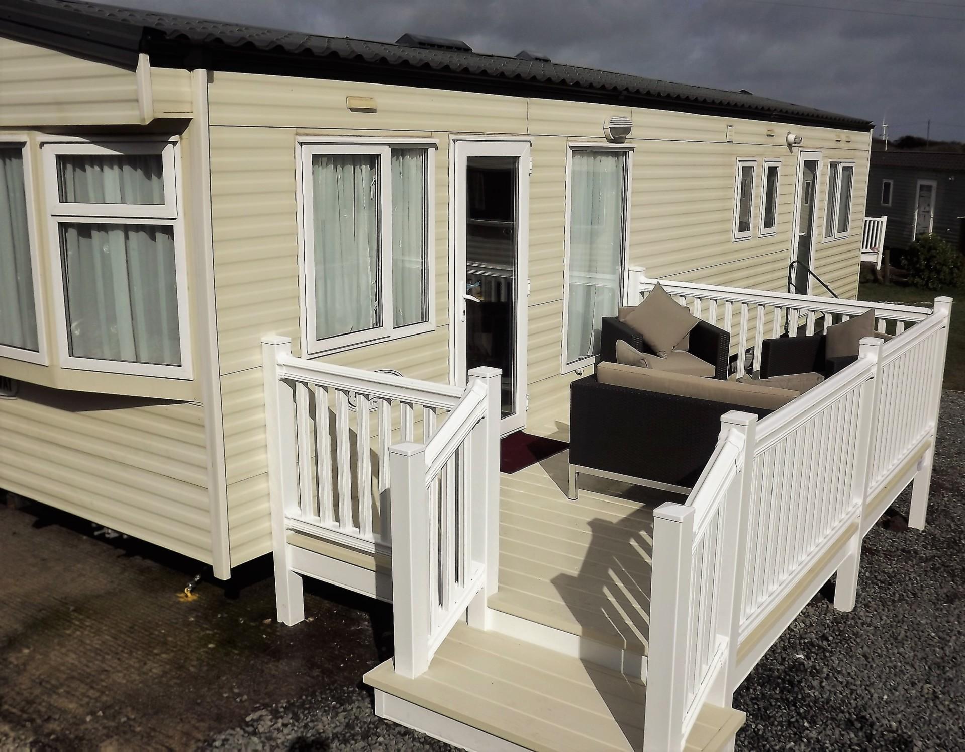 Unique Caravan For Hire At Parkdean Mullion Park In Cornwall UK Caravan Rental