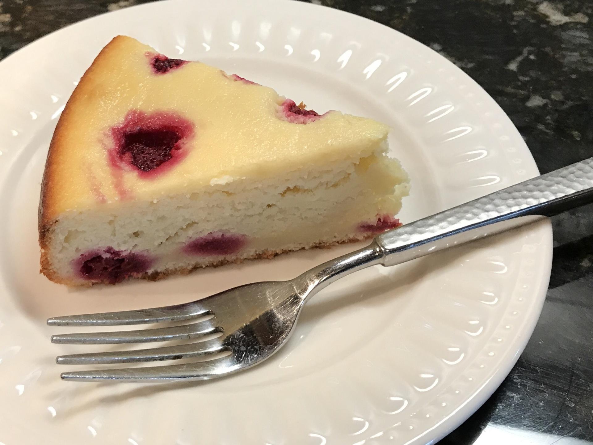 Raspberry - Ricotta Cake
