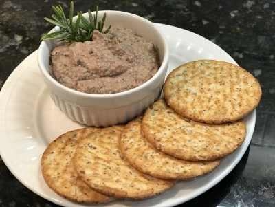 Rosemary and Olive Hummus