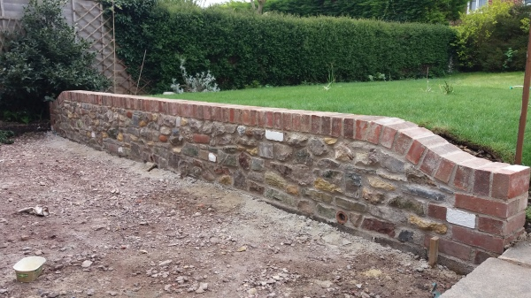 builder Somerset builder Dorset wall