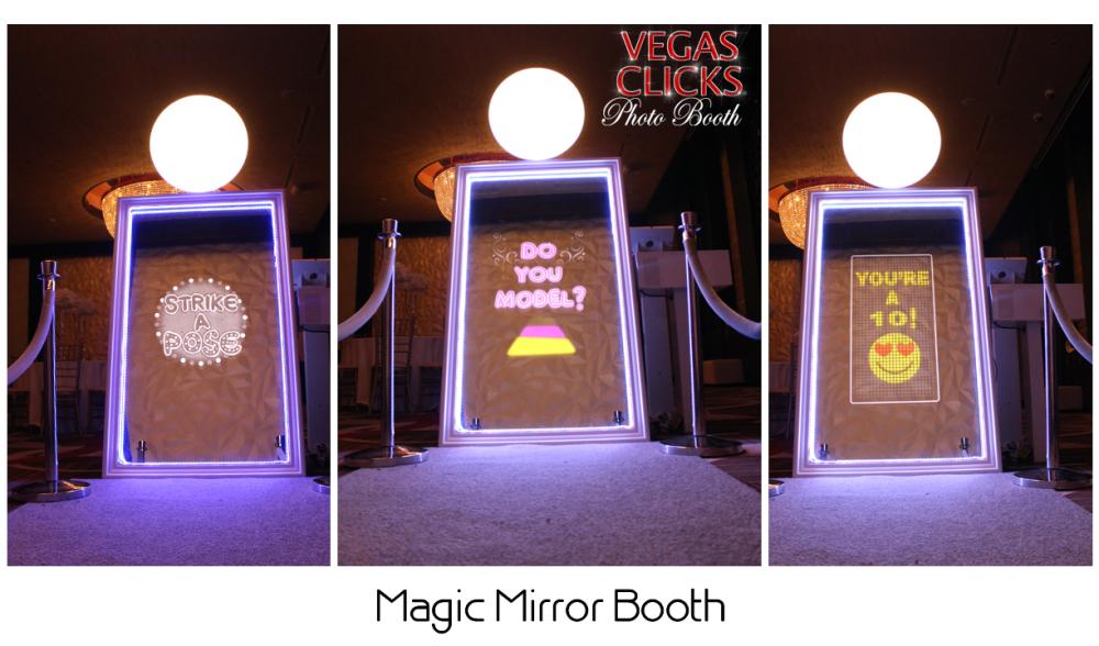 Magic Selfie Mirror Me Photo Booth LasVegas Los Angles San Diego Phoenix