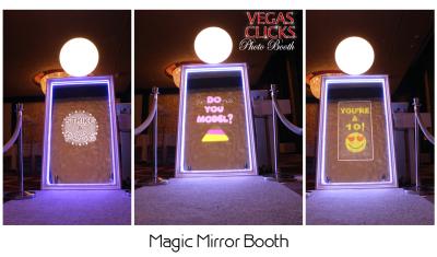 Magic Selfie Mirror Me Photo Booth Rental Las Vegas