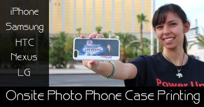 Photo Phone Case Photo Booth Las Vegas, Los Angeles, Phoenix, San Diego