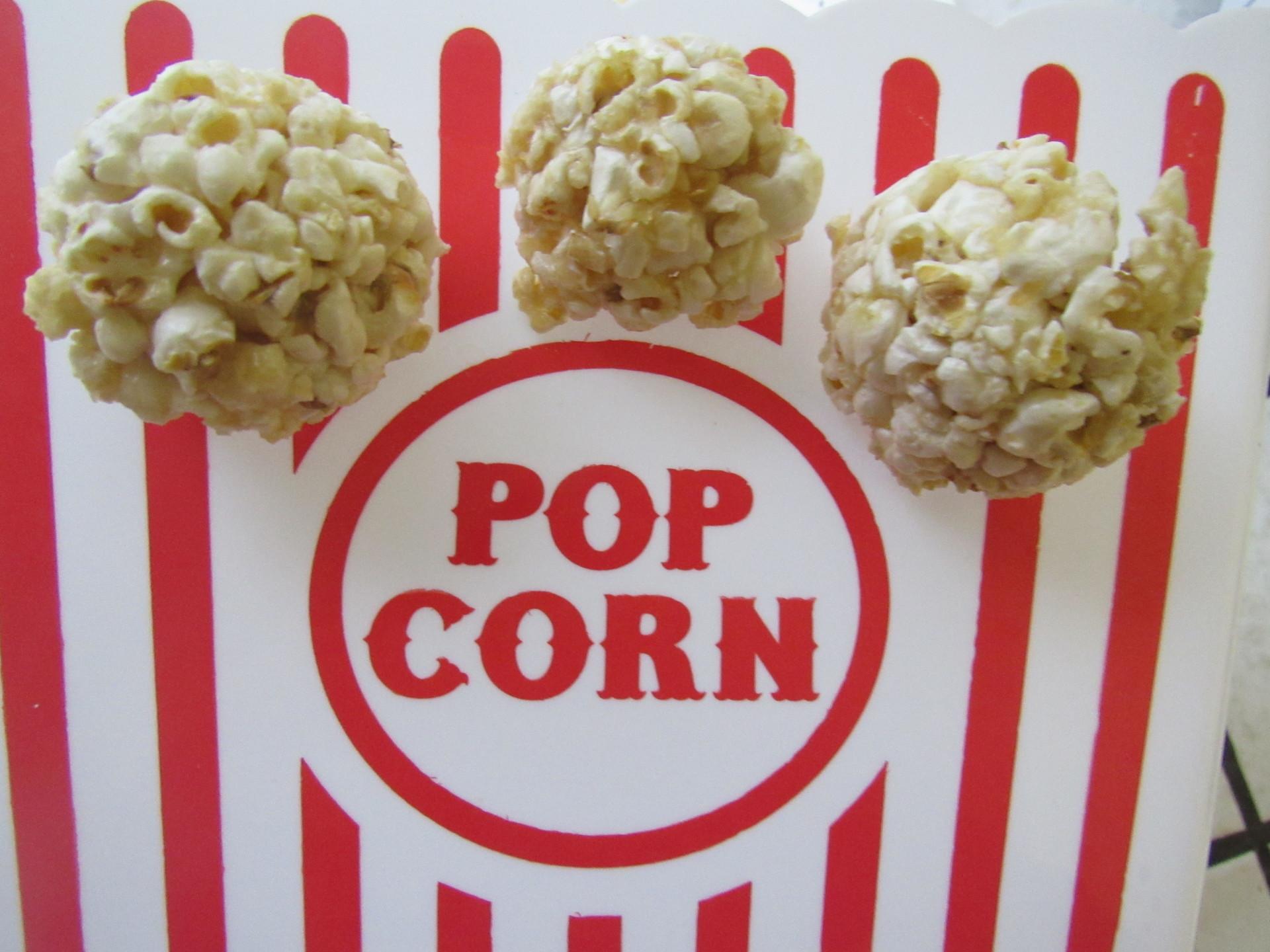 Healthy Popcorn Balls