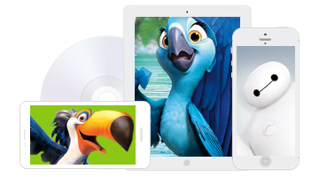 DVD to iPhone/iPad/Android/Tab