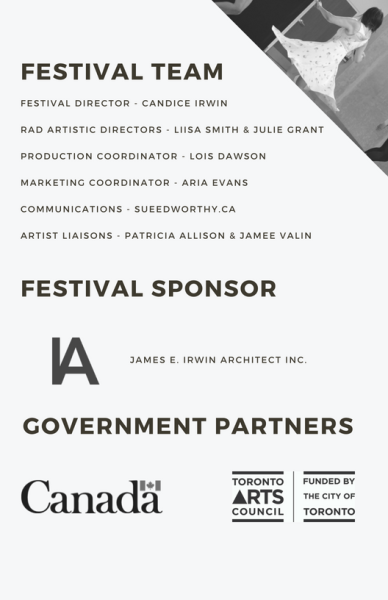 Festival Team and Partners