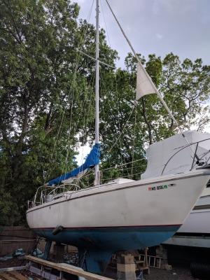 1969 36' Columbia Sailboat - $19,900