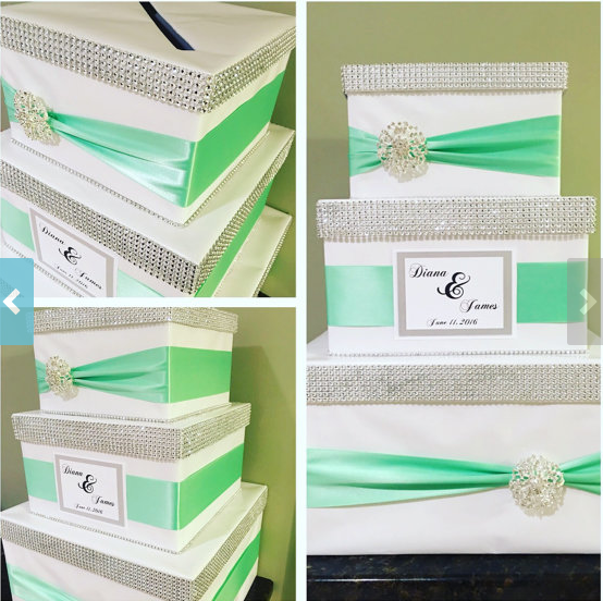 DIY Wedding Cake Card Box
