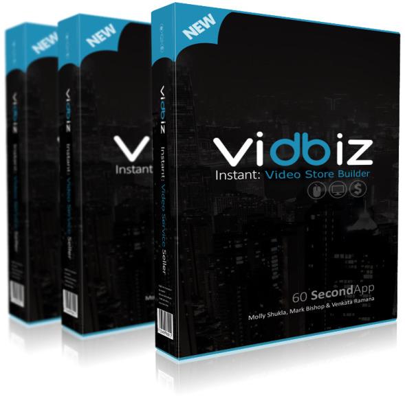 Vidbiz Video Store Builder Review - Vidbiz Video Store Builder +100 bonus items