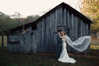 Barn elopement