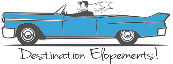 destination elopements wnc logo