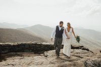 Elope near Asheville, Parkway Elopement, Destination Elopement, Ashley Steffens Photographer