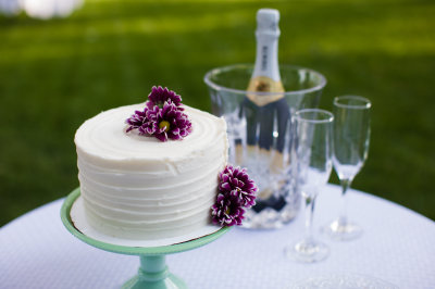 Cake & Champagne Toast $ 150.00