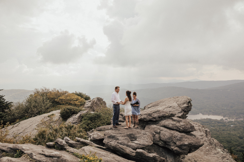 Late Summer Elopements at Grandfather Mountain