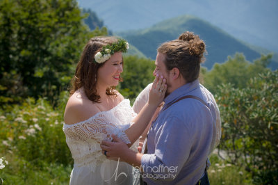 Craggy Garden Summer Elopement Photo by Jeff Haffner Photography