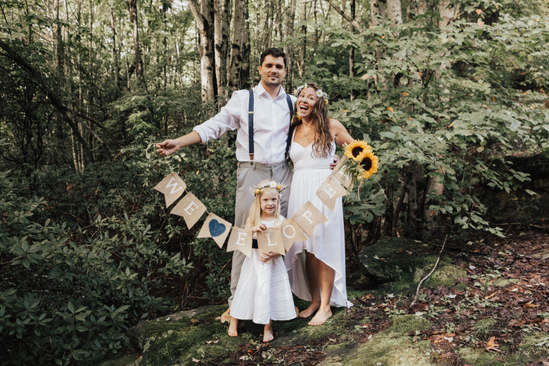 A Cabin in the Woods Elopement