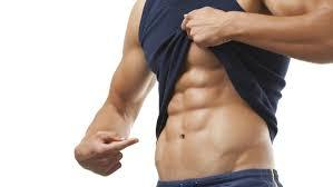 picture of a man with a six pack