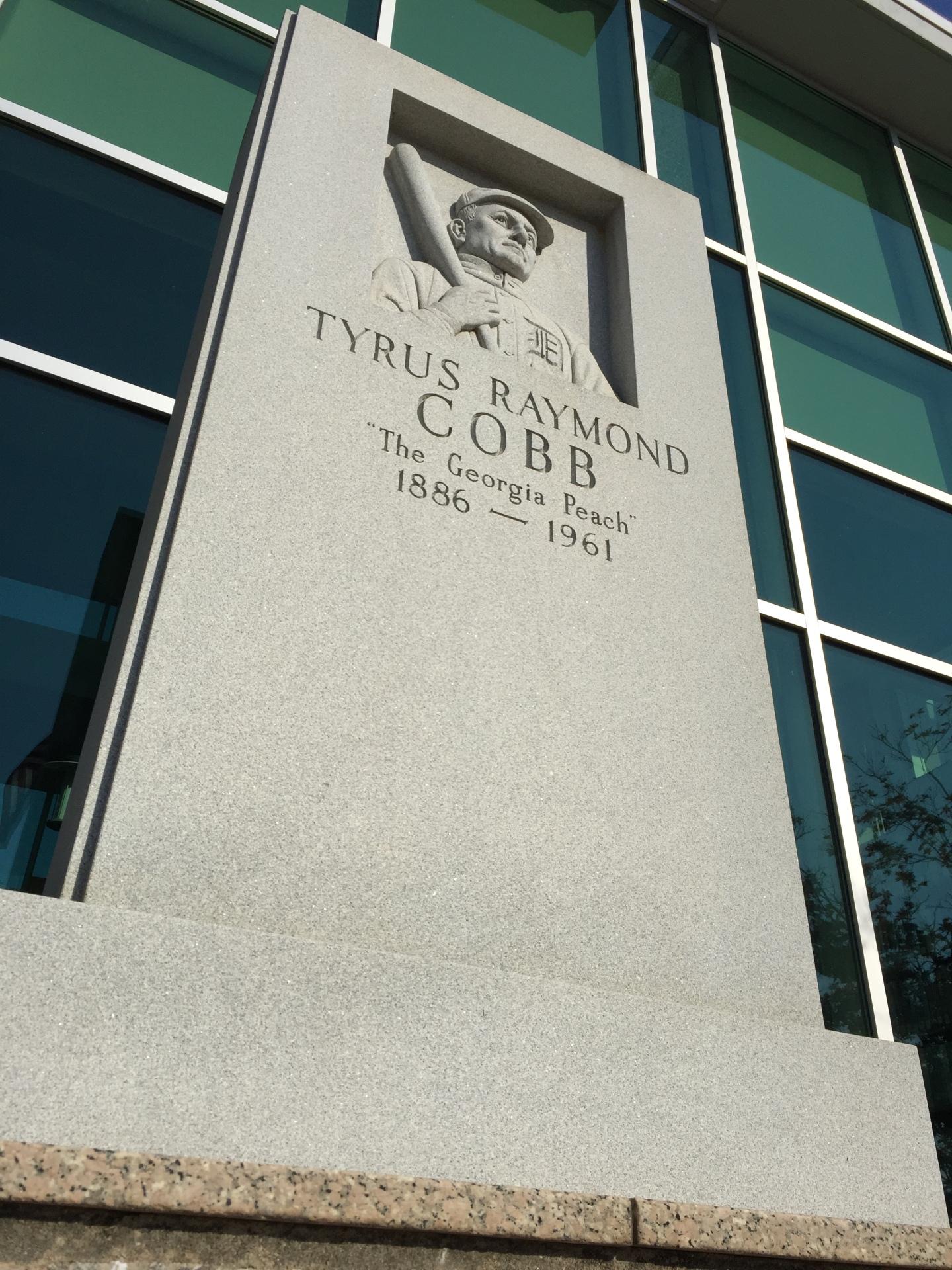 TY COBB Memorial In Royston, Georgia