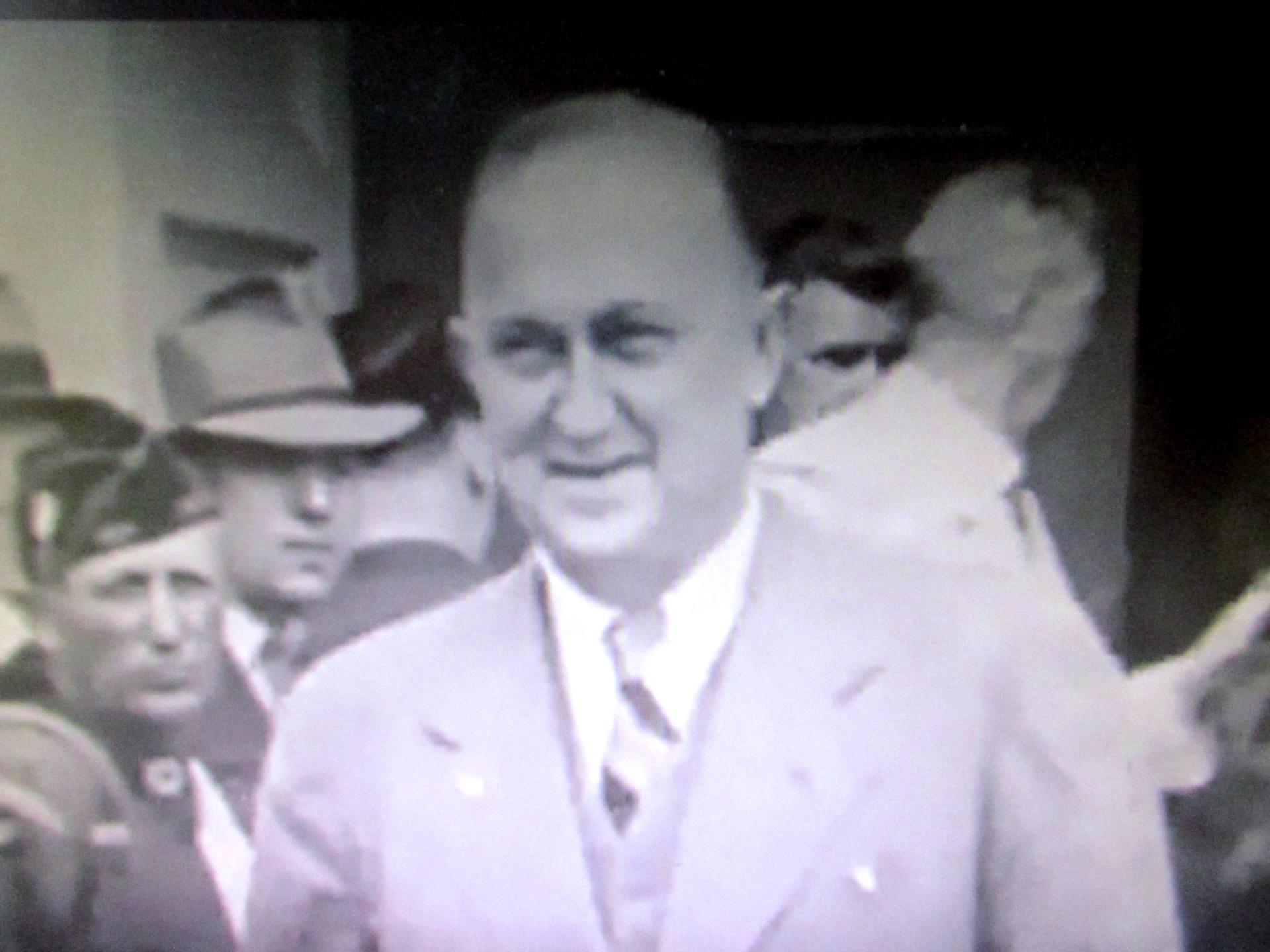 Ty Cobb At Baseball Hall of Fame Induction Ceremony In 1939