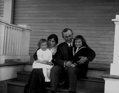 Ty,Charlie, Ty Jr. & Shirley Cobb In Augusta, Georgia