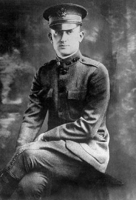 Captain Tyrus R. Cobb, US Army, 1918