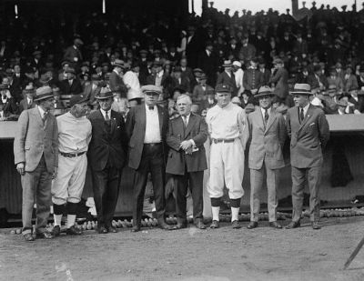 Ty Cobb And Some Of His Friends
