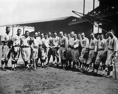 Ty Cobb And The Detroit Tigers
