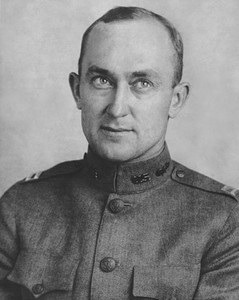 Captain Ty Cobb In His Military Uniform