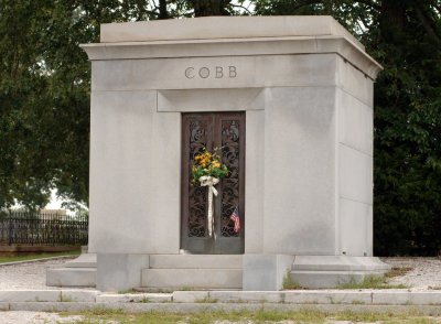 Ty Cobb's Final Resting Place, Rose Hill Cemetery Royston, Georgia