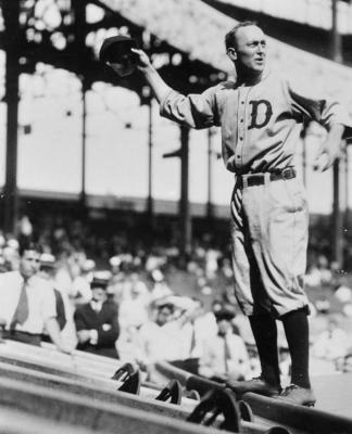 Ty Cobb in 1917