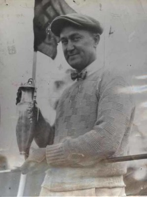 Ty Cobb Wins Augusta Golf Tournament