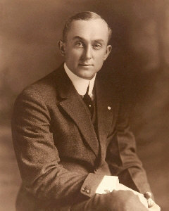 Young Ty Cobb Poses For Portrait