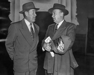 Ty Cobb And Jim Thorpe