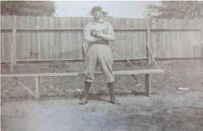 Ty Cobb in Anniston, Alabama Uniform