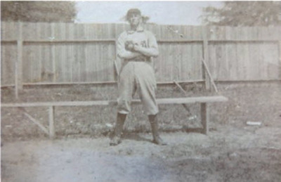 Ty Cobb in Anniston, Alabama Uniform