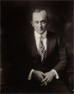 Ty Cobb Studio Portrait