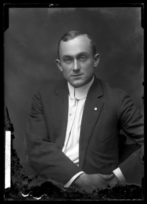 Ty Cobb Studio Portrait